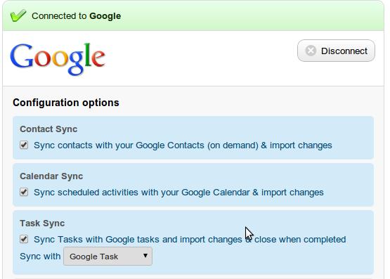 Google Tasks Integration