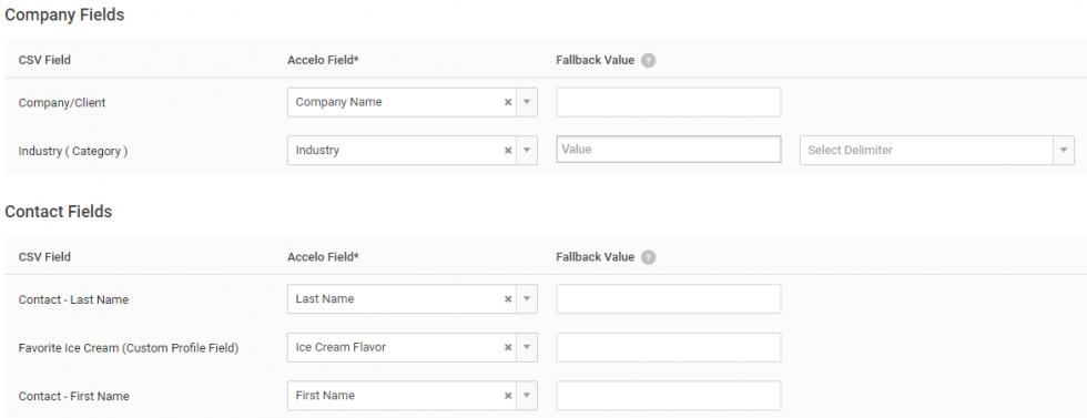 Import Companies and Contacts from CSV
