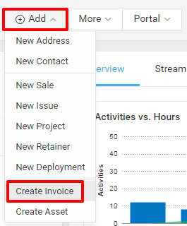 ClientAddInvoice  How To Invoice A Client
