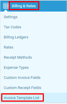 invoice templates | accelo, Invoice examples