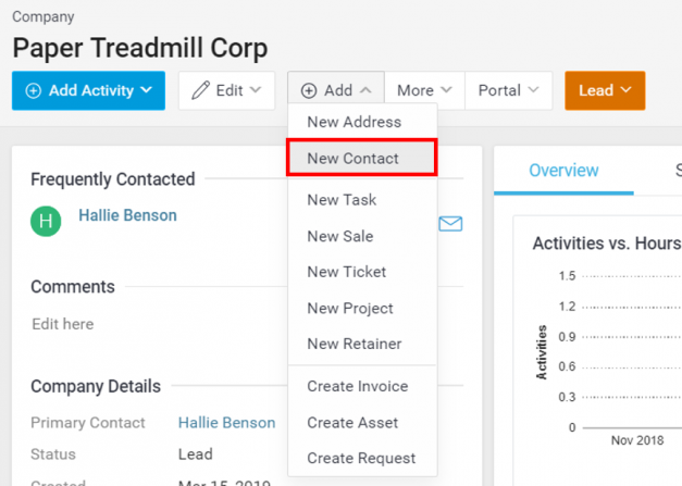 Track Multiple Email Addresses for a Contact