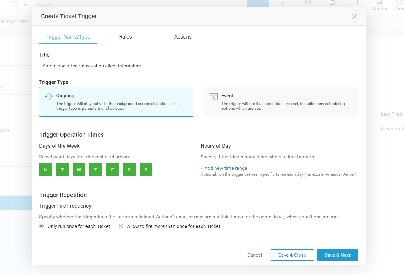 Accelo's automated notifications and triggers feature for simplifying workloads